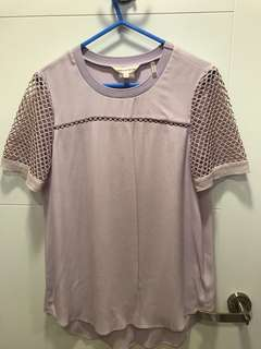 (New with tag) Rebecca Taylor lilac top