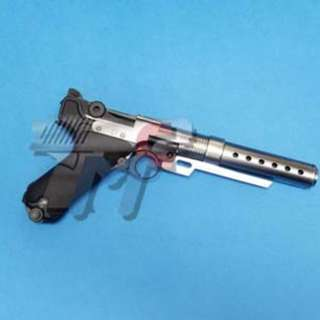 Armorer Works Custom Built Luger P08(6inch) Pistol with Muzzle Device (Limited Edition)