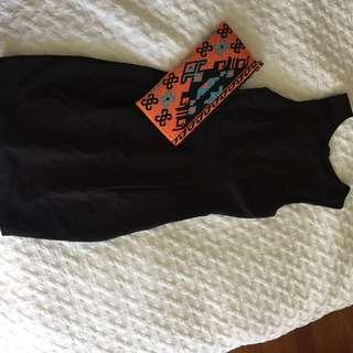 Forever new black dress sz 8