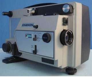 1970's Vintage Cinekon Instduo 8mm dual movie projector