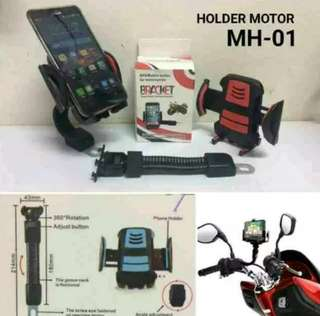 Holder hp di spion motor