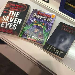 Horror Story Books