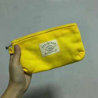BNIB Teelock Yellow Pouch