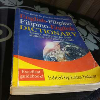 DICTIONARY BOOK