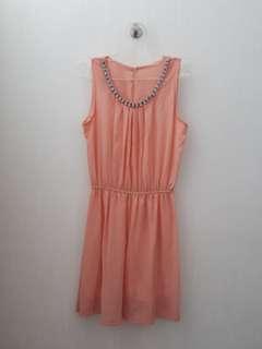 Preloved Dress Peach