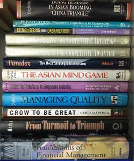 Business and industry in Asia/Singapore, Management, Self improvement books