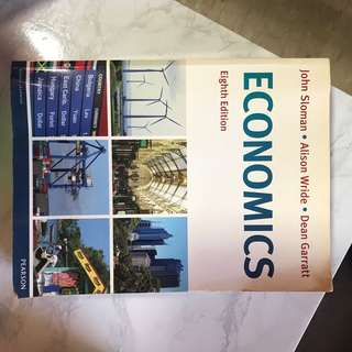 Sloman Economics Eighth Edition Textbook