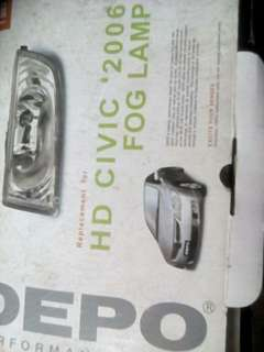 Honda civic hid sports lights
