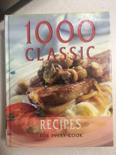 1000 classic Recipes for very cook