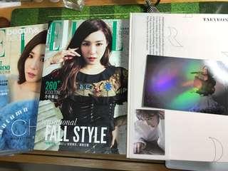 SNSD 少女時代 泰妍 Tiffany photobook/雜誌