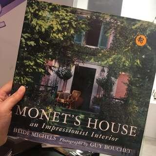 Monet's House: Interior Design Book