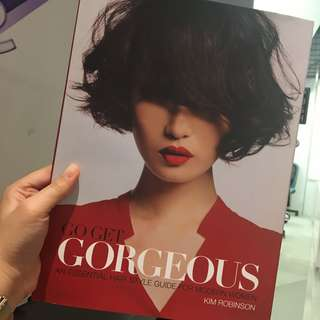 Kim Robinson Hairstyling Book