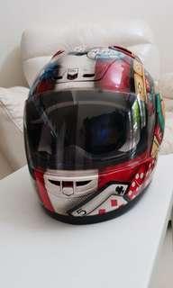 Helm Full Face INK Made In Korea (ORI)