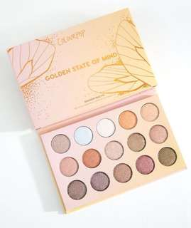 *authentic* Golden State Of Mind Eyeshadow Palette
