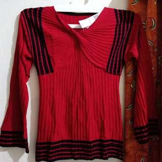 Baju knit / sweater knit / blouse