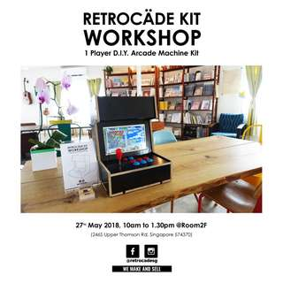 RetroCade :Build Your Own Arcade Machine