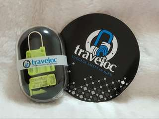 Traveloc Express (1 Paclock & 5 seals) with Usage Guide