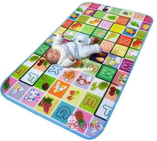 Play and Crawl Toddler Playmat