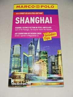 Shanghai travel guide book