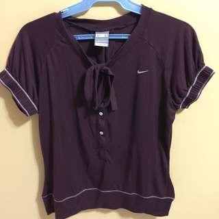 Nike Burgundy Top