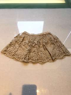 Zara girls skirt 3-4yrs