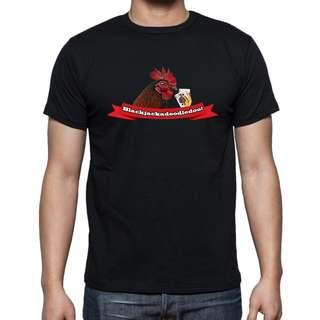 Rooster Blackjack T-Shirt