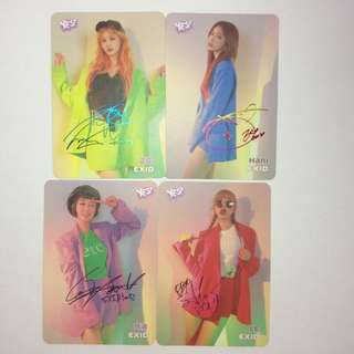 EXID yes card