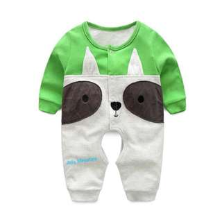 Baby Romper (Green Dog 🐶)