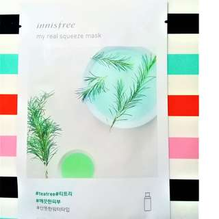 Innisfree My Real Squeeze Mask Tea Tree