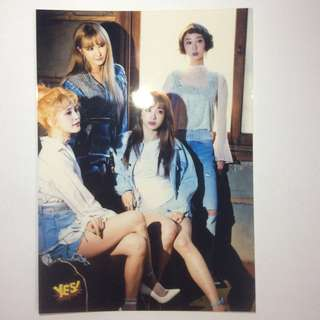 Yes card 5R相 EXID