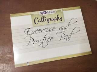 Calligraphy Exercise and Practice Pad (ArtMaker)