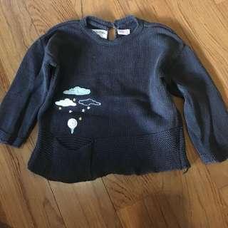 Zara knitted sweater 6-9M