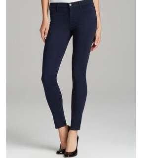 美國正品J brand 超顯瘦牛仔褲 485 Luxe Sateen in Carbon Blue尺寸25