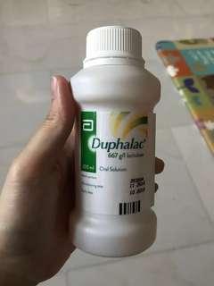 Duphalac lactulose stool softener brand new