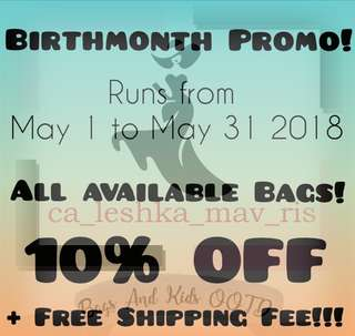 BirthMonth Promo!!