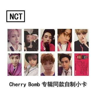 NCT 127 Cherry Bomb Photocard