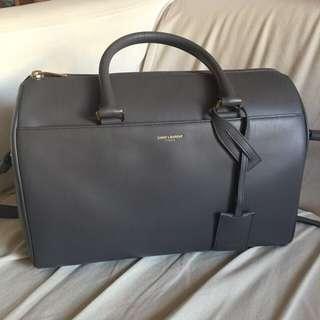 (接近全新)YSL Saint Laurent Duffle Bag 可手挽 斜揹 側揹