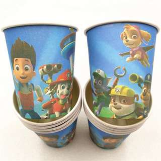 🐾 Paw Patrol party supplies - party cups