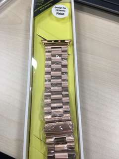 23mm rose gold watch strap for fitbit (negotiable)