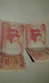 Uang kertas 100