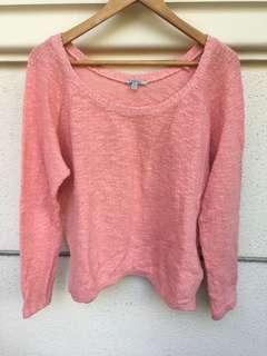 Zara Peach Sweater
