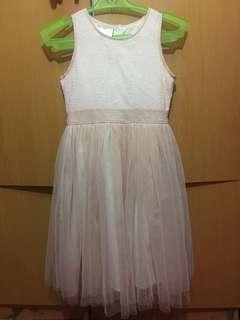 Girl's Peach Dress Size 10