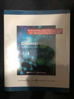 Chemistry The Molecular Nature of Matter and Change Martin S. Silberberg