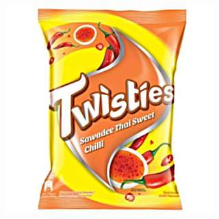 2 x Twisties (Sawadee Thai Sweet Chilli)