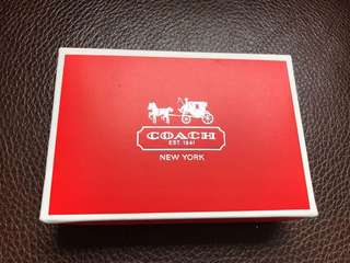 🚚 全新coach 小紙盒