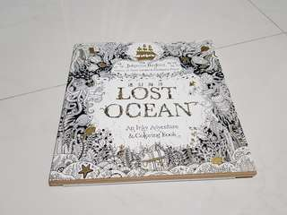 Lost Ocean Colouring Book (new)