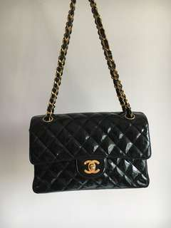 Vintage Chanel Double-Sided Chain Shoulder Bag