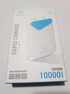 Rapid charge portable