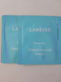 Laneige white dew ampoule essence sample