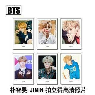 BTS Jimin Polaroid Set